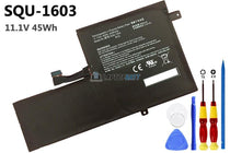 11.1V 45Wh Hasee SQU-1603 battery