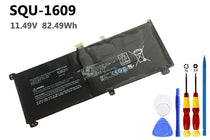 11.49V 82.49Wh Hasee SQU-1609 battery