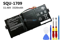 11.46V 3320mAh Hasee SQU-1709 battery