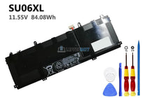 11.55V 84.08Wh HP SU06XL battery