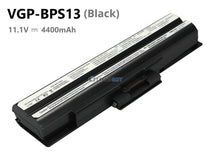 4400mAh Black Sony VGP-BPS13 battery