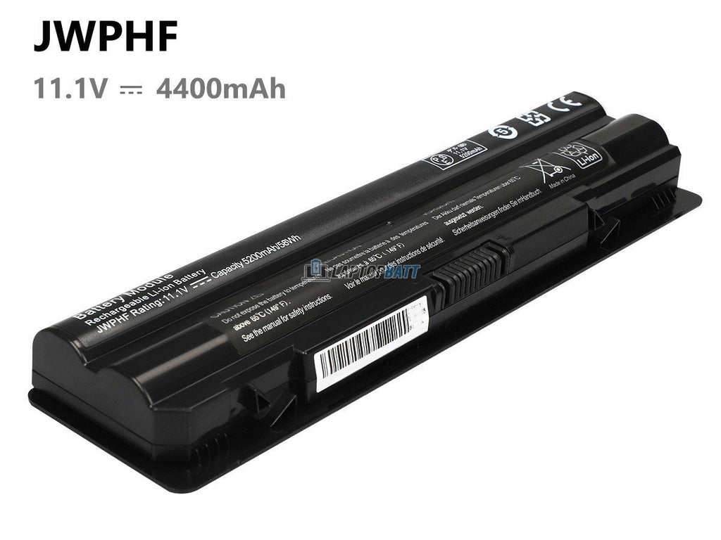 6 Cells 4400mAh Dell XPS L702X battery