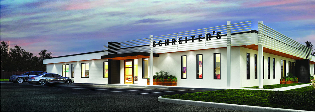 Schreiter's new location May 2016