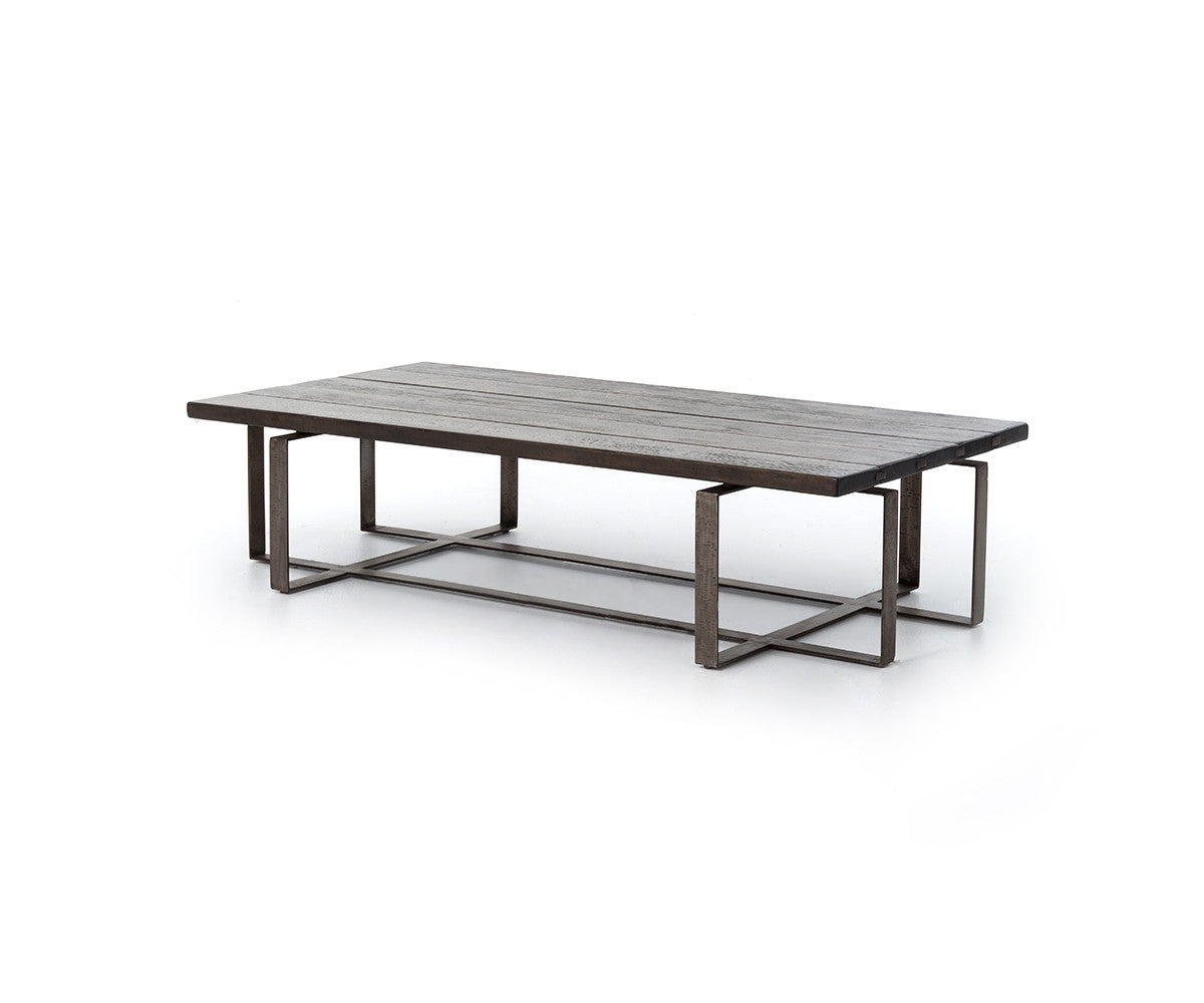 Four Hands Wesson Brant Coffee Table Grey Oak Schreiter 39 S