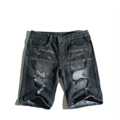 Short crayon destroy en denim - Superpromo.fr