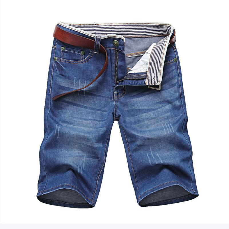 Short denim casual stylé - Superpromo.fr