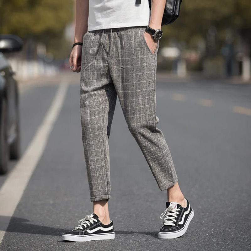 Pantalon à carreaux Collection 2020