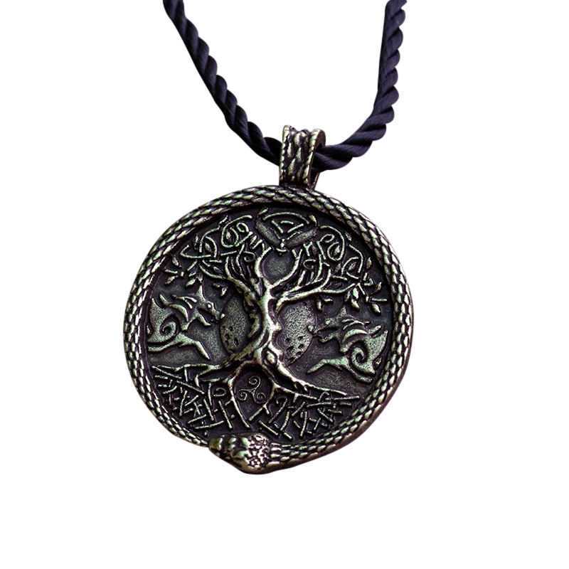 Collier Viking<br>Yggdrasil</br>