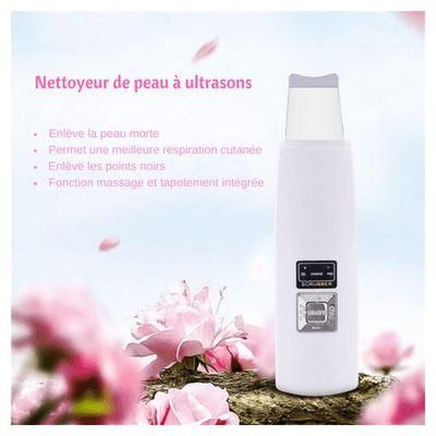 ÉPURATEUR DE PEAU ULTRASONIQUE - Superpromo.fr