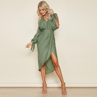 Robe Casual mi-longue Collection 2020 - Superpromo.fr