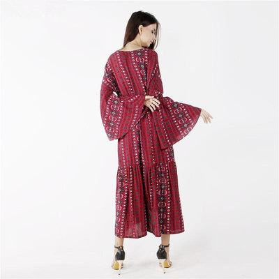 Robe casual style bohème - Superpromo.fr