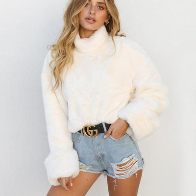 Gros Pull Court SWEETY - Superpromo.fr