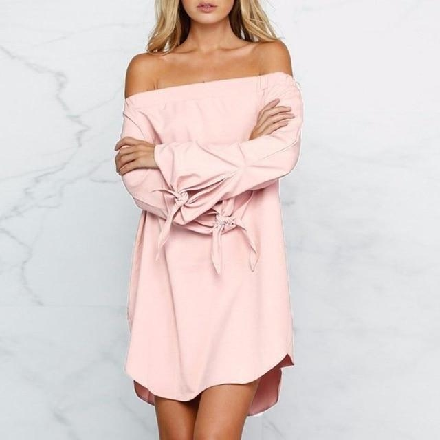 Mini Robe Bardot - Superpromo.fr