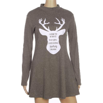 Robe-Pull DEER - Superpromo.fr