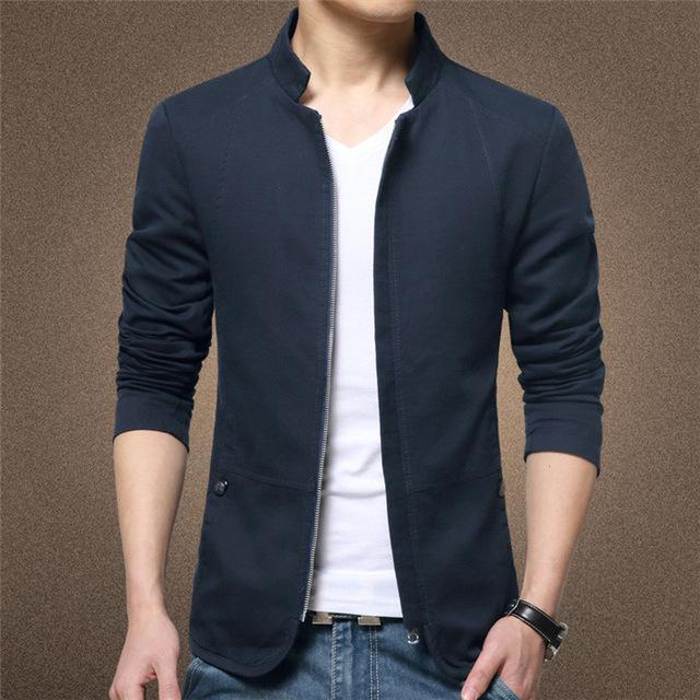 Veste Slim COLLAR - Superpromo.fr