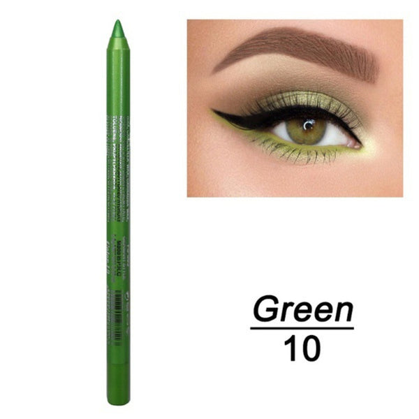 1 Pc Long-lasting Eyeliner Pencil Waterproof 14 Colors