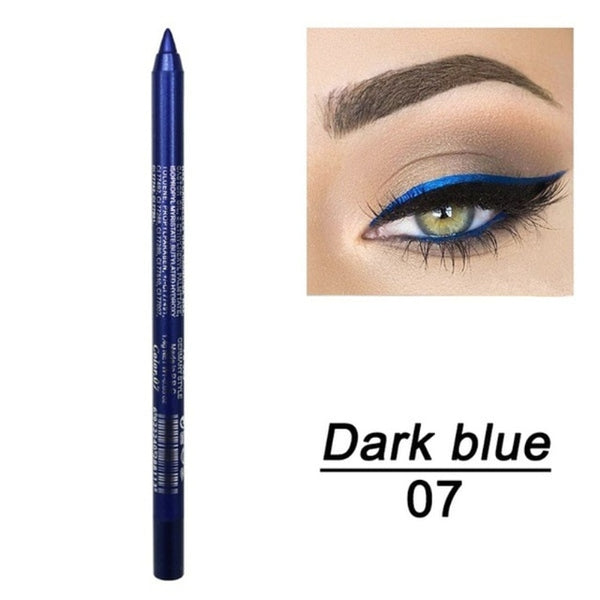 Long-lasting Eyeliner Pencil Waterproof 14 Colors