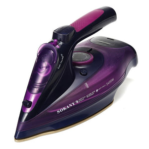 2400W Cordless Wireless Charging Portable Steam Iron 5 Speed