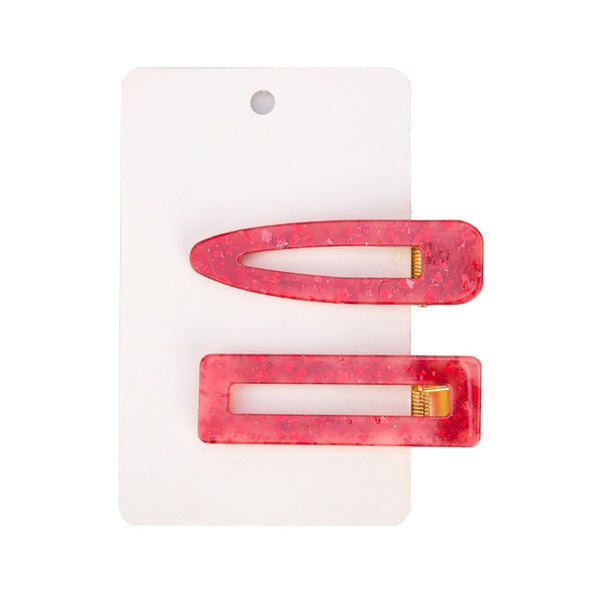 2pcs Vintage Hollow Hair Clip Hair Accessories