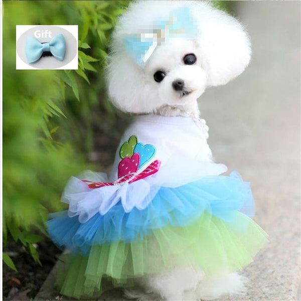 Dress Sweety Princess Puppy Small Dog