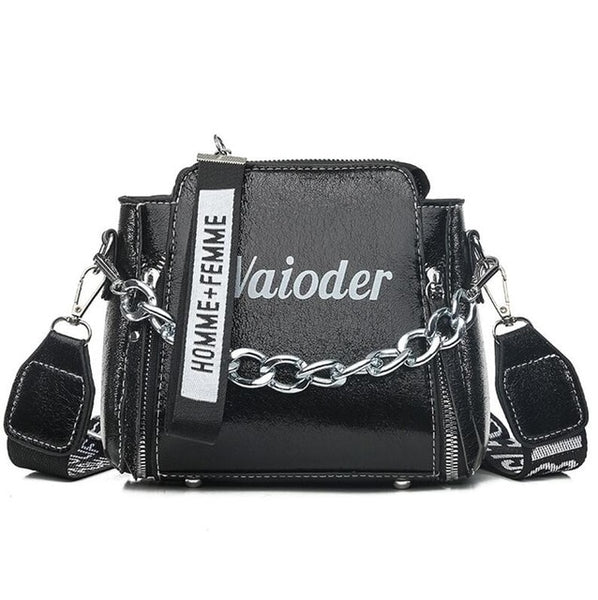 Laser Letter Shoulder Exquisite Crossbody Bag