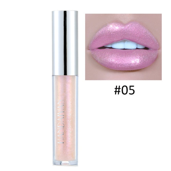 Liquid Crystal Glow Lip Gloss Glitter