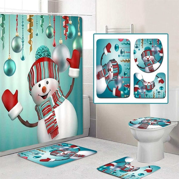 Merry Christmas Bathroom set