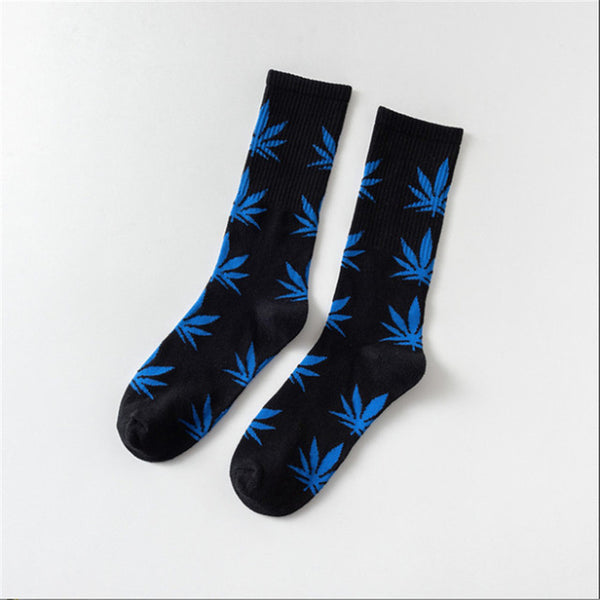 Happy Hemp Leaf Socks