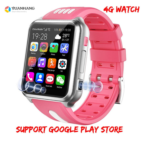 Smart 4G Remote Camera GPS WI-FI Tracer Finder Google Play Smartwatch Video Voice Recorder Call Monitor Phone Watch