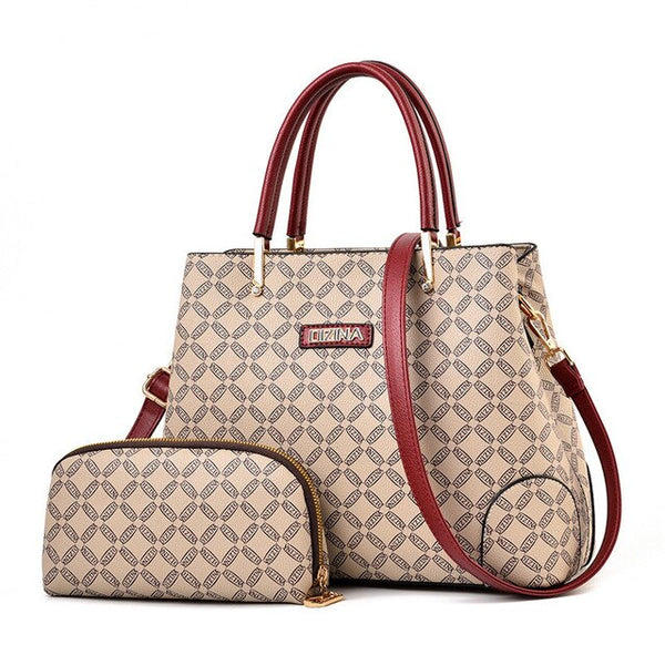 Two piece Luxury Handbag Set
