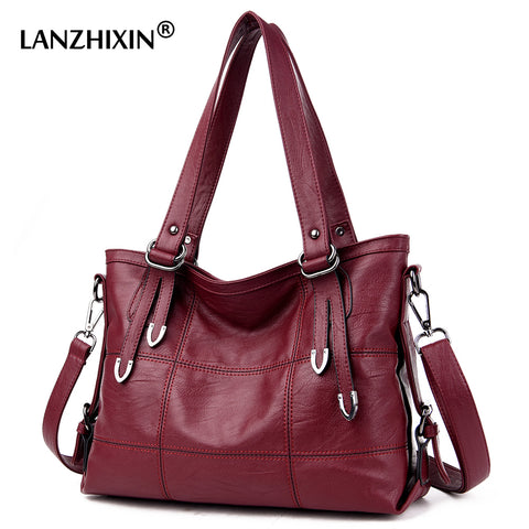Women Soft Shoulder Top-Handle Bag