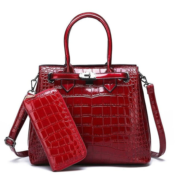 Women luxury high quality classic handbag