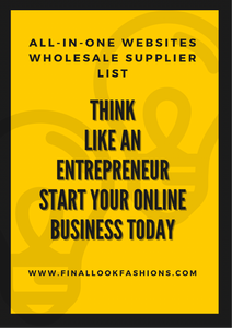 All-In-One Websites Wholesale Supplier List
