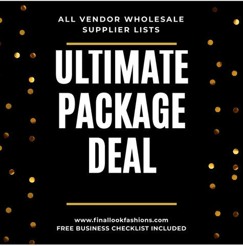 Ultimate Package Wholesale Supplier Lists Deal