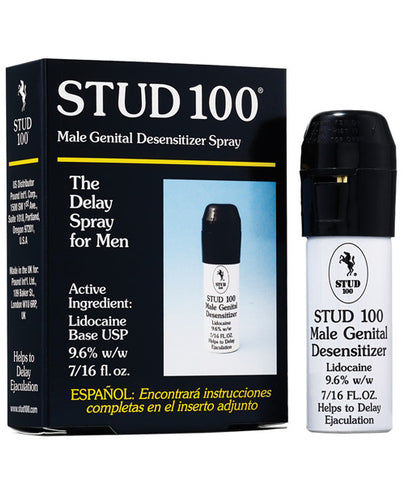 Stud 100 Penis Desensitizer Delay Spray for Men