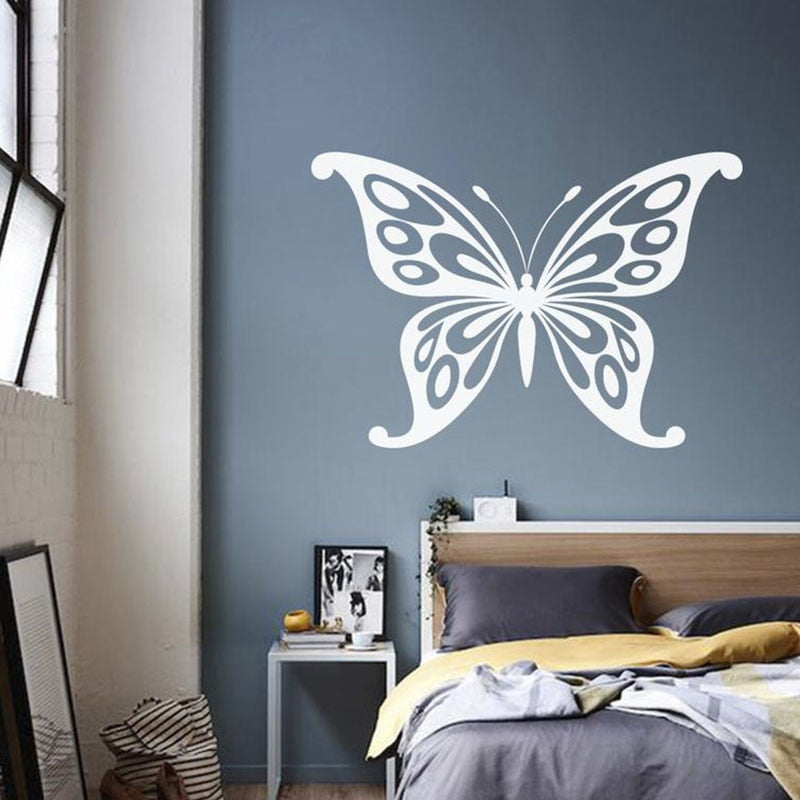 Butterfly Pattern Wall Sticker for Baby Girls Room Nursery Vinyl Decals Butterfies for Decoration for Kids Rooms Art Mural A209