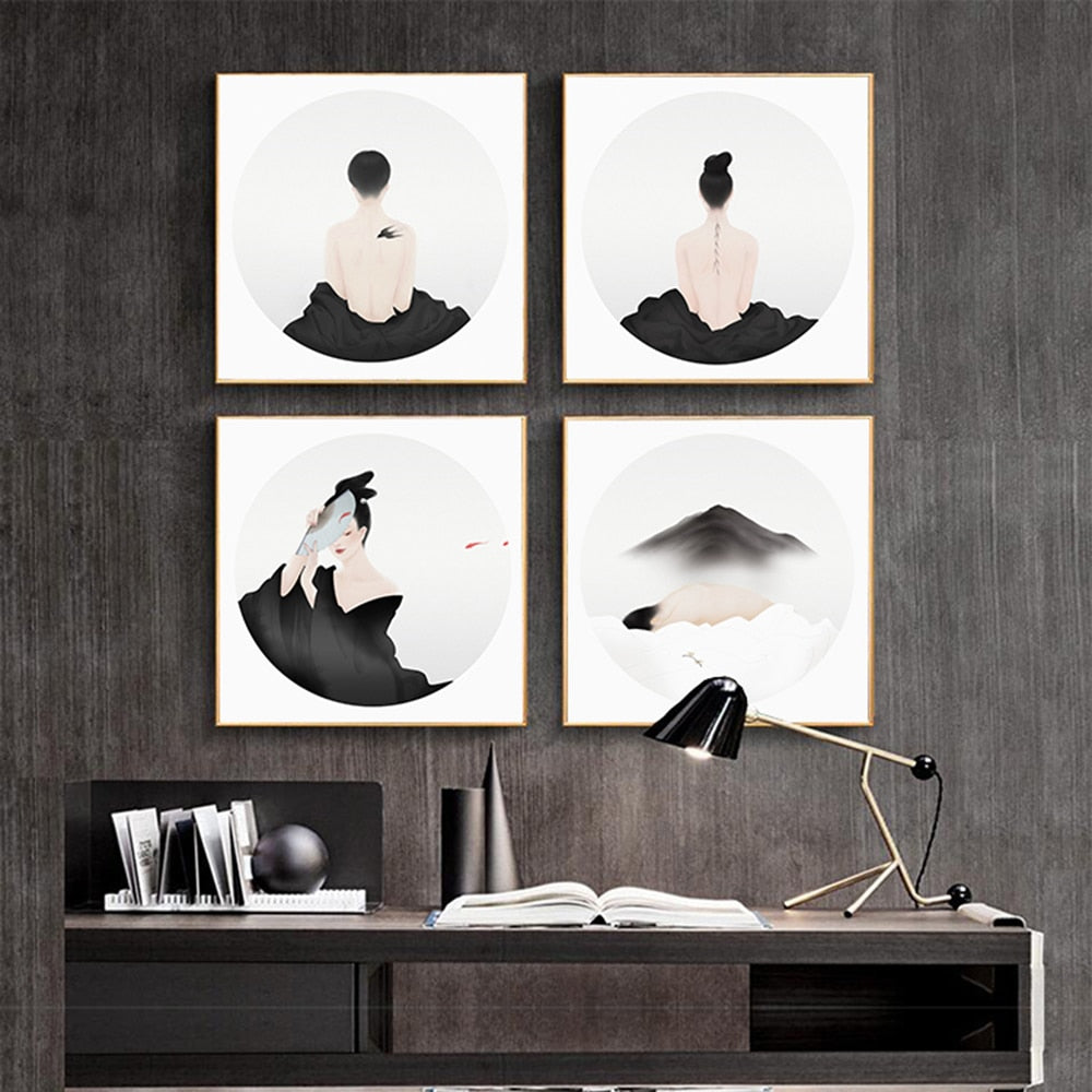zen buddhism wall art