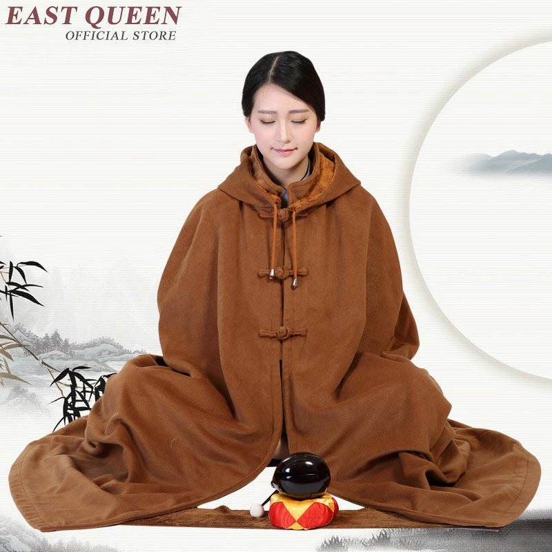 Meditation cushion winter meditation clothing meditation clothes female zen clothing DD063 C