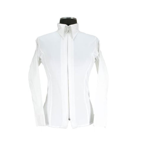 Girls Show-Shirt Classic in weiss - Royal Highness Equestrian