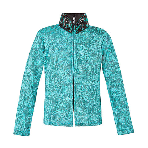 Ladies Show Shirt Paisley von Royal Highness Equestrian