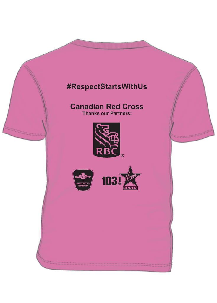 CRC - back of Pink tee