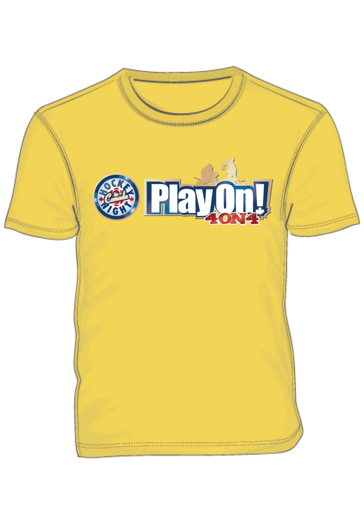 HNIC's Play On! 4 on 4 BRIGHT T-shirts