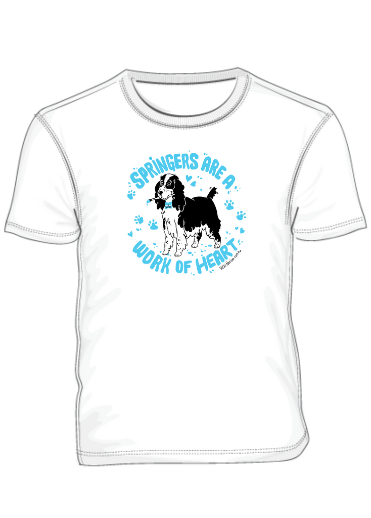 Springer Spaniel Tees to Help Save Springers in Need!