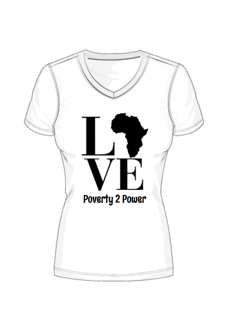 Poverty 2 Power; Tee's to Save a Life!