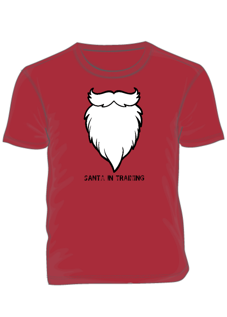 SANTA IN TRAINING - BEARD SHIRT