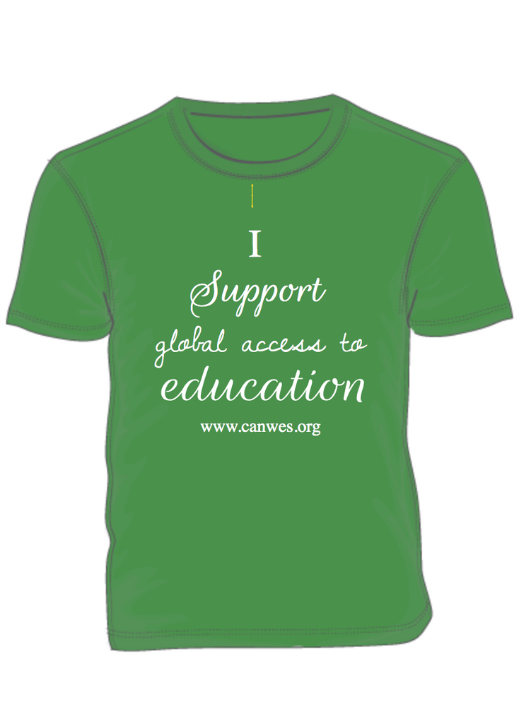 CanWES T-Shirt Fundraiser - Help CanWES rebuild their school in Nepal!