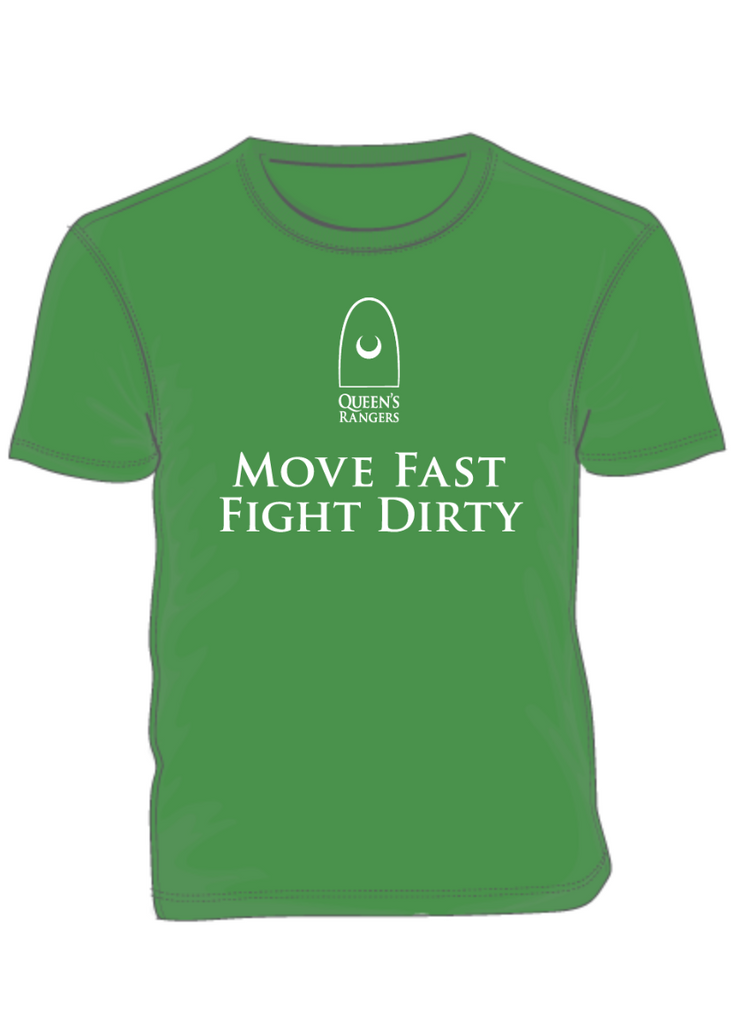 Queen's York Rangers-Move Fast, Fight Dirty