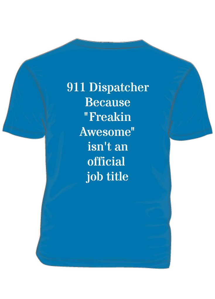 911 Dispatcher - PTSD Awareness Month