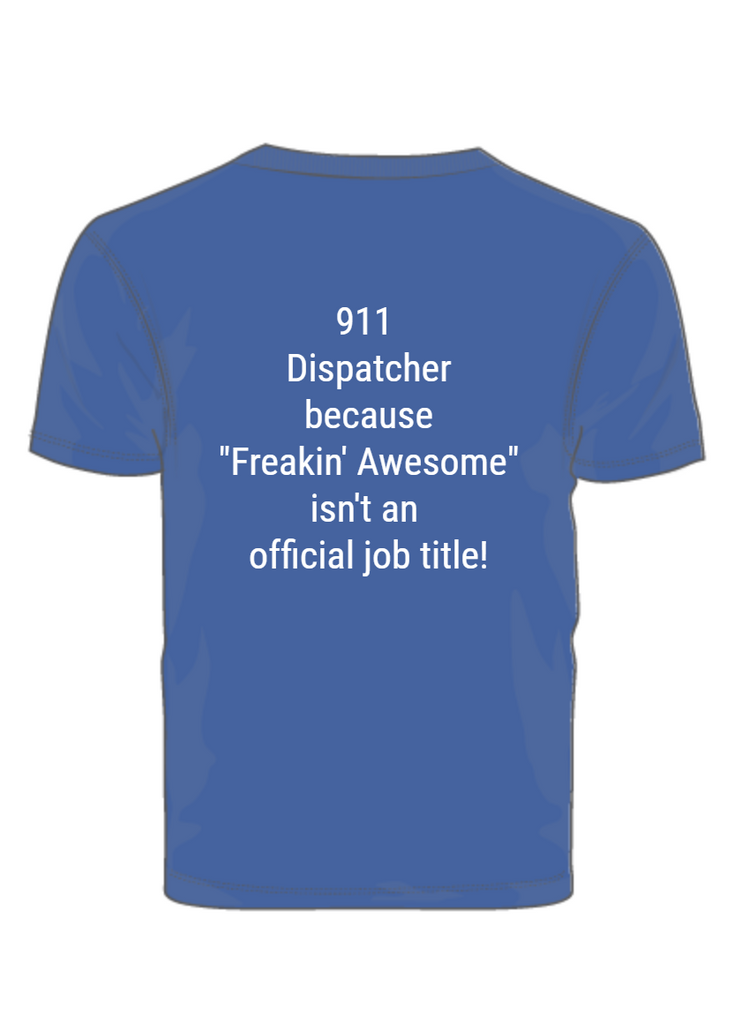 911 Dispatcher--Supporting PTSD Awareness Month