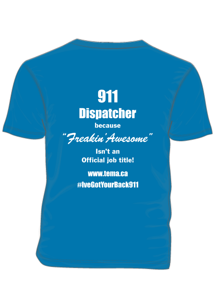 911 Dispatcher-Support PTSD Awareness Month